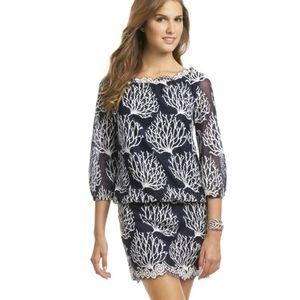 Lily Pulitzer Coral Print Dress
